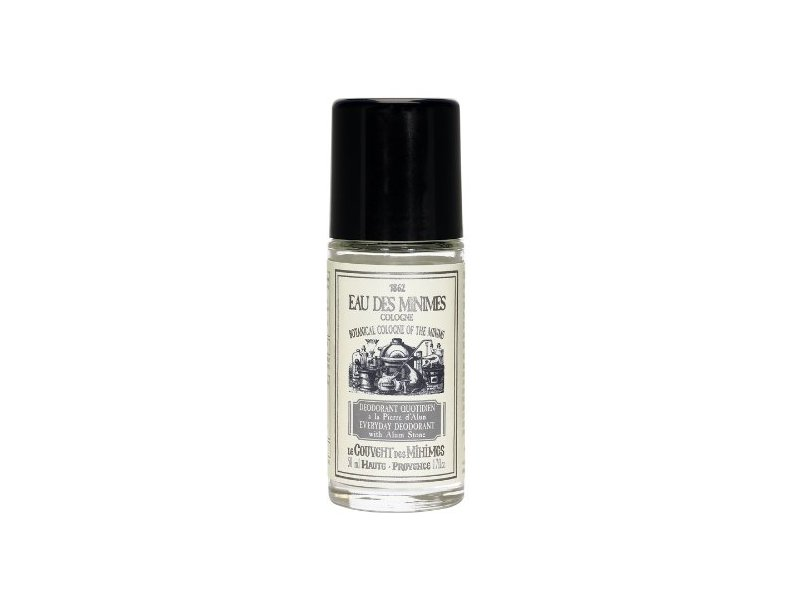 Le Couvent Des Minimes Everyday Deodorant with Alum Stone, 1.6 Fluid Ounce