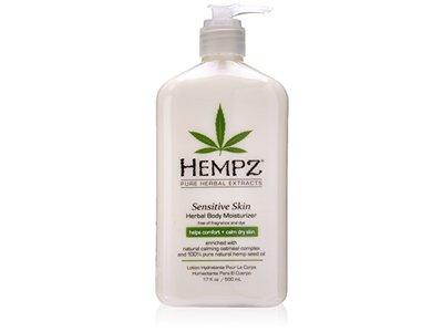 Hempz Sensitive Skin Herbal Body Moisturizer, Off White, 17 Fluid Ounce - Image 1
