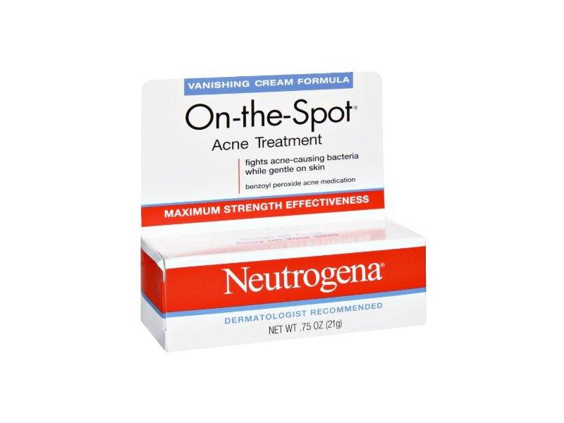 Neutrogena On-The-Spot Maximum Strength Effectiveness Acne Treatment, .75 oz