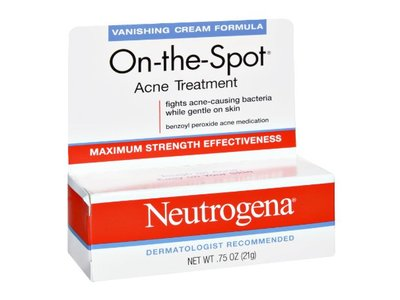 Neutrogena On-The-Spot Maximum Strength Effectiveness Acne Treatment, .75 oz