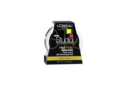 L'oreal LOreal Studio Line Overworked Hair Putty, 1.7 oz (Pack of 3)