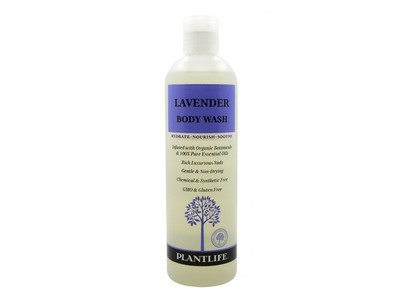 Plantlife Lavender Body Wash, 14 fl oz