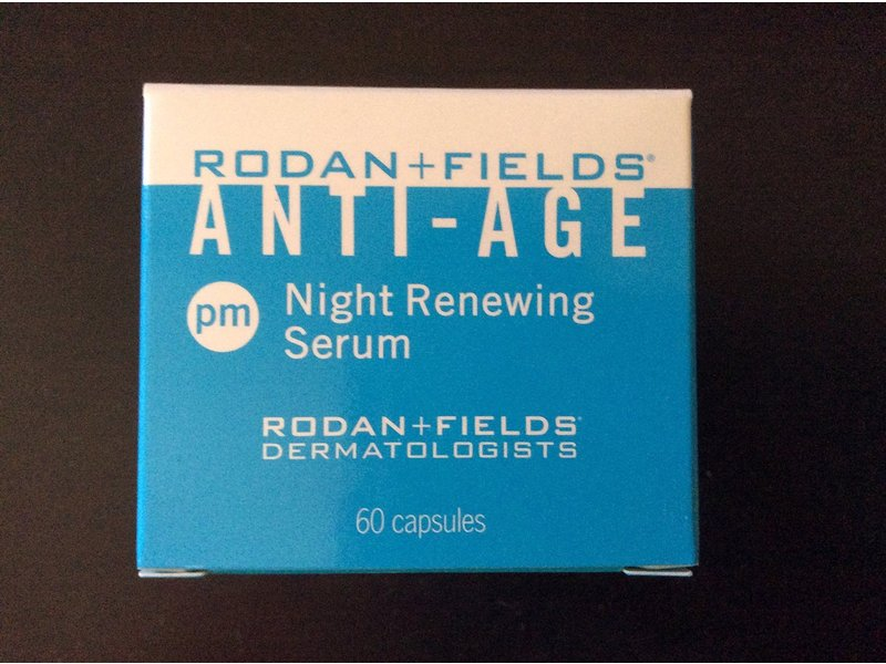Rodan + Fields Redefine Night Renewing Serum, 60 capsules