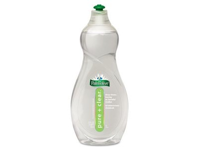Pure & Clear Dish Liquid, Light Scent, 25 oz bottle