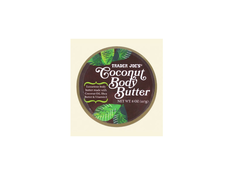 Trader Joe's Coconut Body Butter, 8 oz