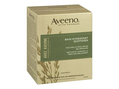 Aveeno Daily Moisturizing Bath with Natural Colloidal Oatmeal, Fragrance Free 8 bath packets 6 oz - Image 4