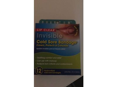 Quantum Health Lip Clear Invisible Cold Sore Bandage, 12 Count - Image 7