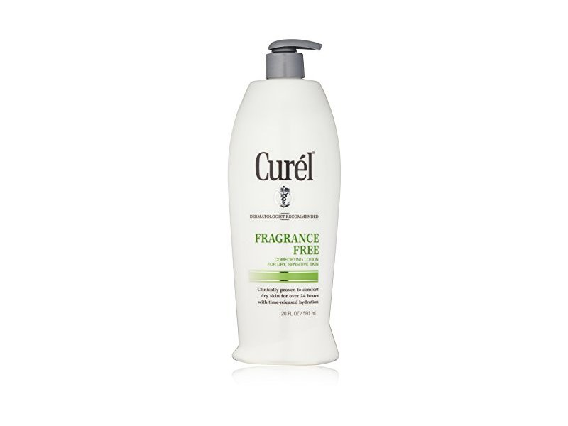 Curel Fragrance Free Lotion, 20 Fl Oz