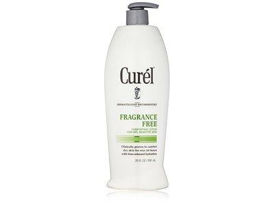 Curel Fragrance Free Lotion, 20 Fl Oz - Image 1