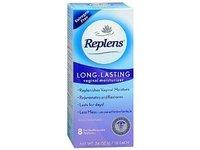 Replens Long-Lasting Vaginal Feminine Moisturizer 8 Prefilled Applicators - Image 2