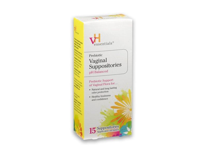 VH Essentials Prebiotic Vaginal Suppositories PH Balanced, Lake Consumer Products