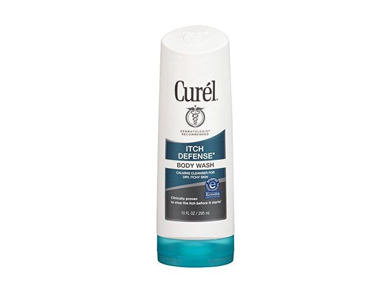 Curel Itch Defense Body Wash, 10 Ounce