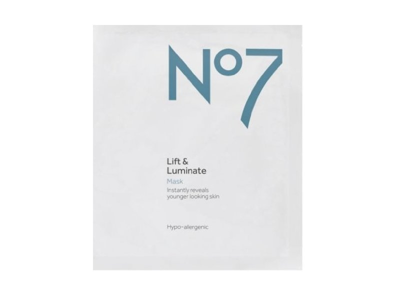 Boots No7 Lift & Luminate Mask Ingredients and Reviews