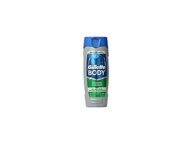 Gillette 2 In 1 Dry Skin Hydrator And Body Wash, 16 fl oz