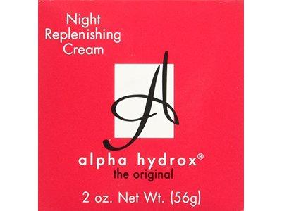 Alpha Hydrox Night Replenishing Creme - 2 oz - Image 4