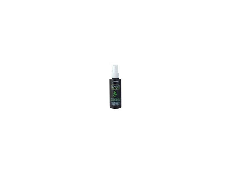 Aubrey Organics Men's Stock Natural Dry Deodorant Spray, Herbal Pine, 4 fl.oz (Pack of 6)