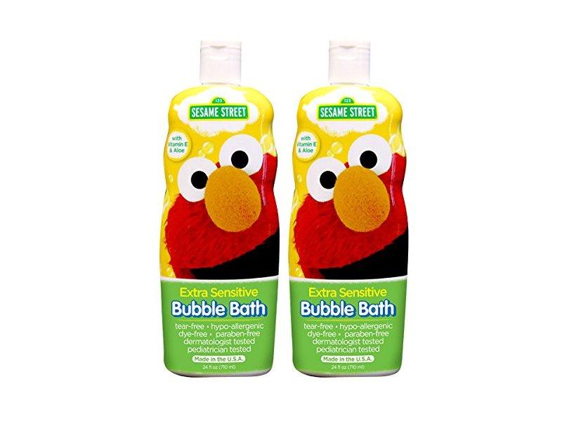 Sesame Street Bubble Bath Extra Sensitive, 24 fl oz
