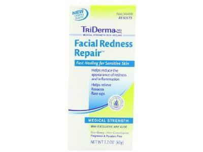 TriDerma Facial Redness Repair, 2.2 oz