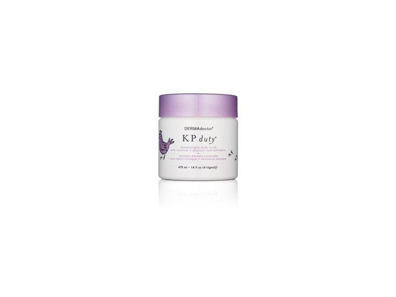 DermAdoctor KP Duty Dermatologist Body Scrub With Chemical + Physical Exfoliation