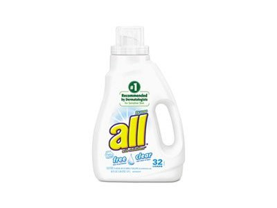 All Free Clear Liquid Laundry Detergent with Stainlifters, 50 fl oz
