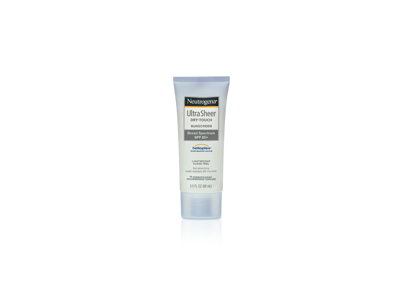 Neutrogena Ultra Sheer Dry-touch Sunscreen Broad Spectrum SPF-85, Johnson & Johnson