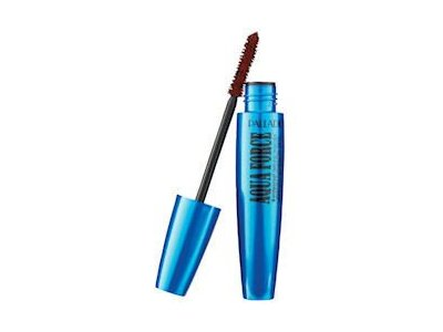Palladio Aqua Force Waterproof Mascara, Brown, 0.43 oz