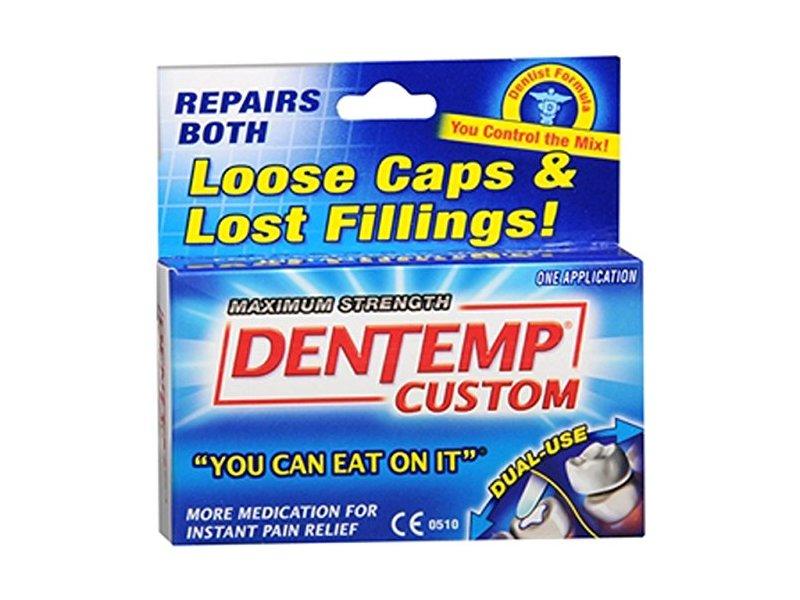Dentemp Maximum Strength Custom Repair lost fillings & loose caps