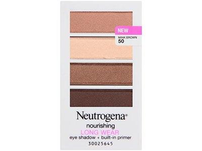 Neutrogena Nourishing Long Wear Eye Shadow Plus Primer, Mink Brown, 0.24 Ounce - Image 3