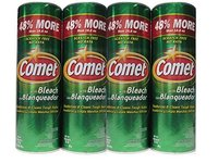 Comet with Bleach Disinfectant Cleanser, 25 oz (Pack of 4) - Image 2
