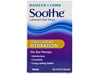 Soothe Long Lasting Lubricant Eye Drops, 0.50 Fluid Ounce - Image 2