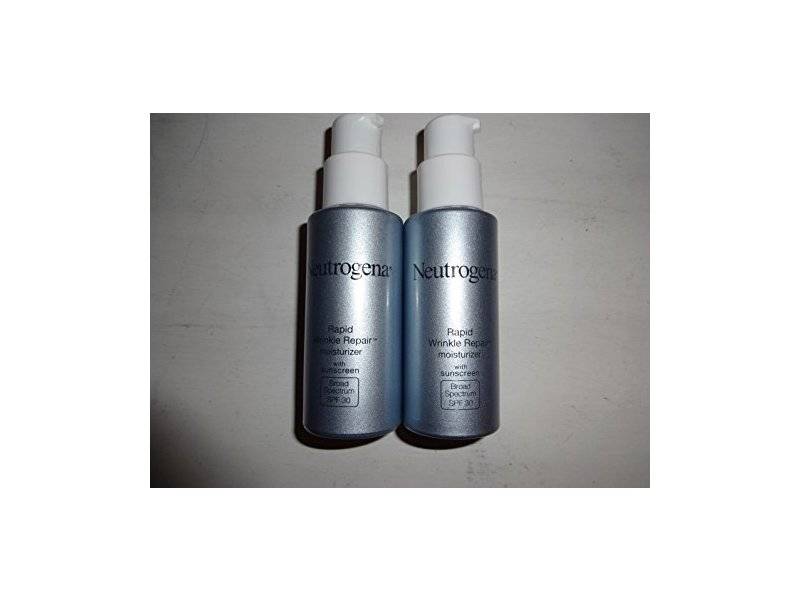 Neutrogena Rapid Wrinkle Repair Moisturizer; Broad Spectrum SPF30, 1 ounce bottles (2)