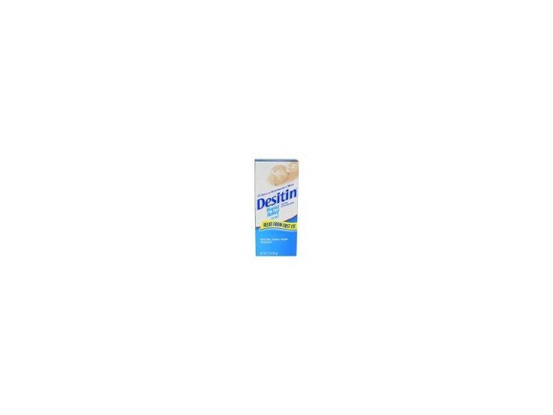 Johnson and Johnson Desitin Rapid Relief Diaper Rash Cream for Kids, 2 Ounce