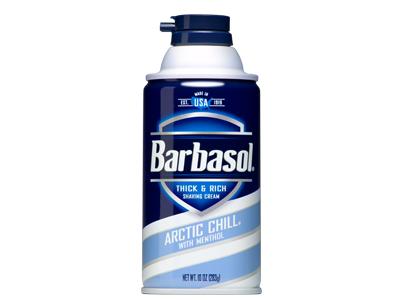 Barbasol Arctic Chill Thick & Rich Shaving Cream, Perio, Inc.