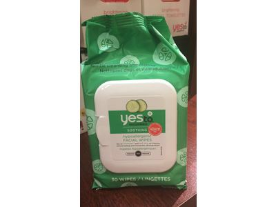 Yes To Cucumber Hypoallergenic Facial Towelettes, 30 Count - Image 4