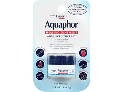 Aquaphor Healing Ointment, Mini Jar, .25 Ounce (Pack of 6)