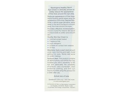 Neutrogena Healthy Skin Eye Cream, Johnson & Johnson - Image 4