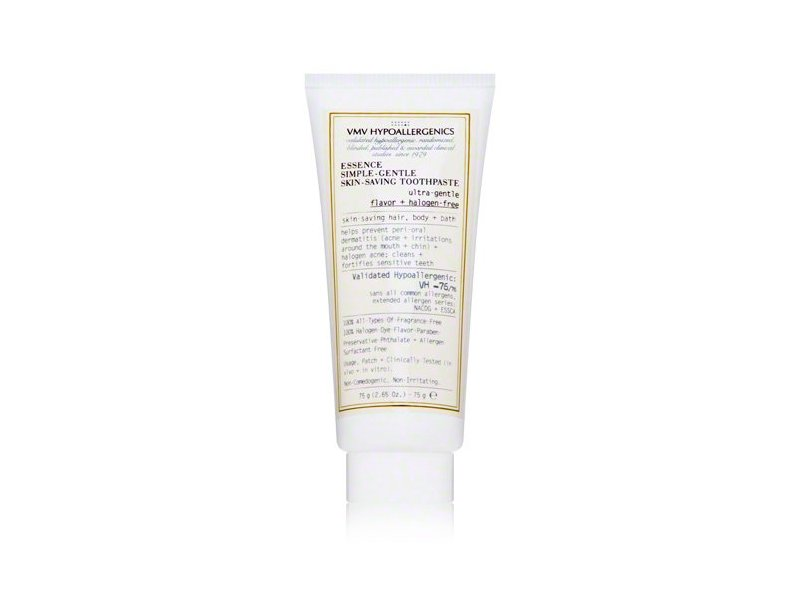 VMV Hypoallergenics Essence Simple-Gentle Skin-Saving Toothpaste, 2.65 oz