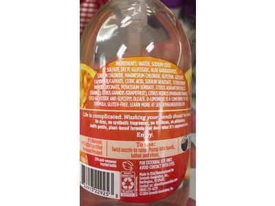 Seventh Generation Natural Hand Wash, Fresh Citrus, 12 fl oz - Image 4
