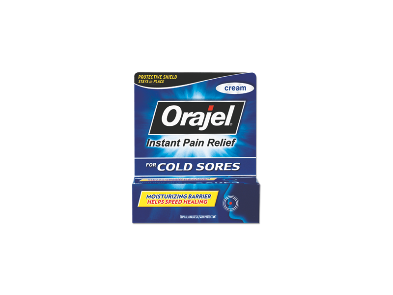 Orajel For Cold Sore Instant Pain Relief, Church & Dwight Co., Inc.