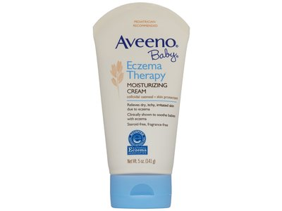 Aveeno Baby Eczema Therapy Moisturizing Cream, Johnson & Johnson - Image 1