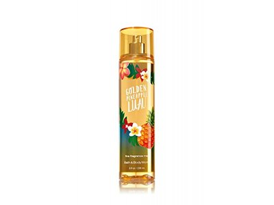 Bath & Body Works Fine Fragrance Mist, Golden Pineapple Luau, 8 fl oz