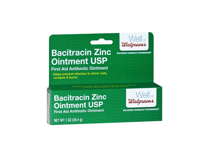 Walgreens Bacitracin Zinc Ointment USP, 1 oz