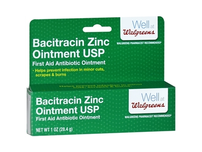 Walgreens Bacitracin Zinc Ointment USP, 1 oz