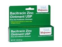 Walgreens Bacitracin Zinc Ointment USP, 1 oz - Image 2