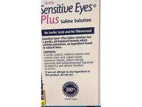 Bausch & Lomb Sensitive Eyes Plus Saline Solution, 2-count, 12-Ounce Bottles (Pack of 4) - Image 4