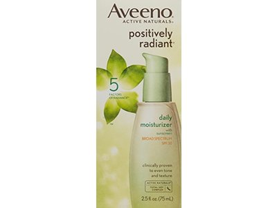 Aveeno Active Naturals Positively Radiant Daily Moisturizer, SPF 30, 2.5 Ounce - Image 4