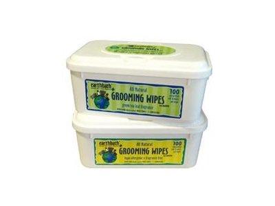 Earthbath Green Tea Pet Grooming Wipes, 100ct