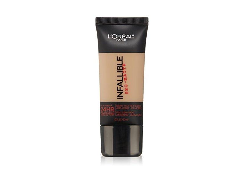 L Oreal Paris Cosmetics Infallible Pro Matte Foundation Makeup
