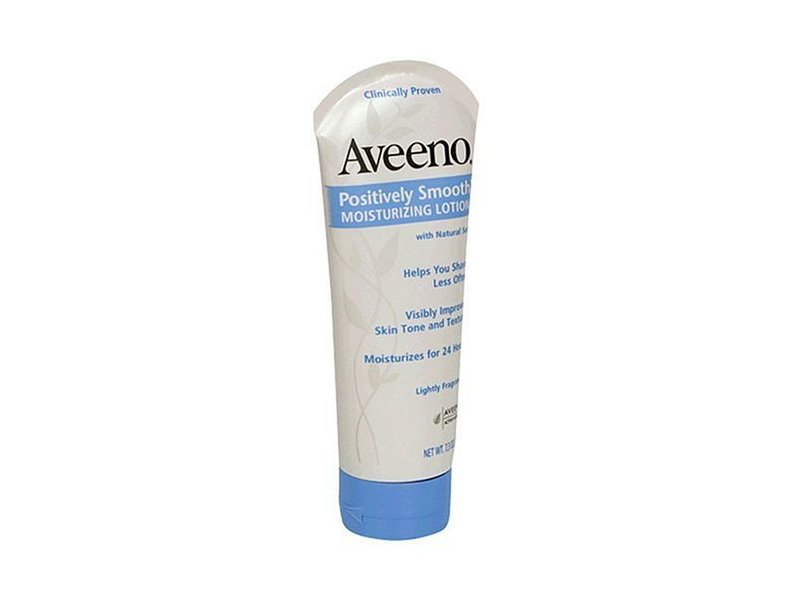 Aveeno Positively Smooth Moisturizing Lotion, Johnson & Johnson