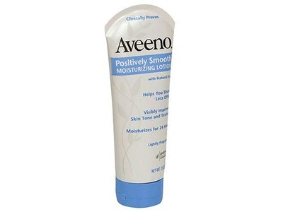 Aveeno Positively Smooth Moisturizing Lotion, Johnson & Johnson - Image 1